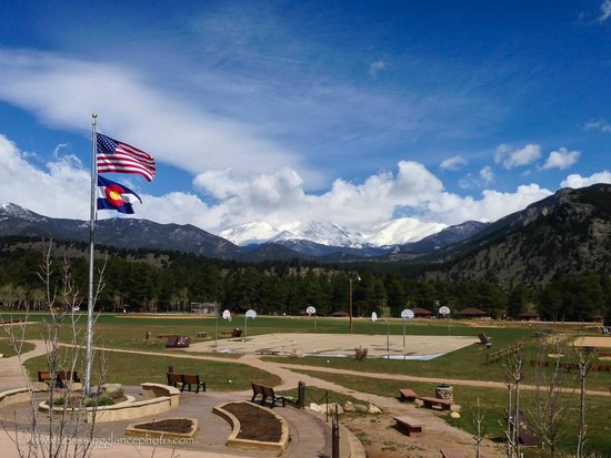 YMCA of the Rockies: View from Main Lodge