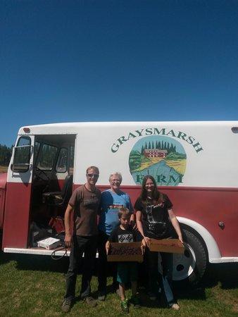 Graysmarsh Berry Farm: family time