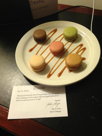 Marriott Vacation Club Pulse, New York City: lovely surprise in our room when we checked in