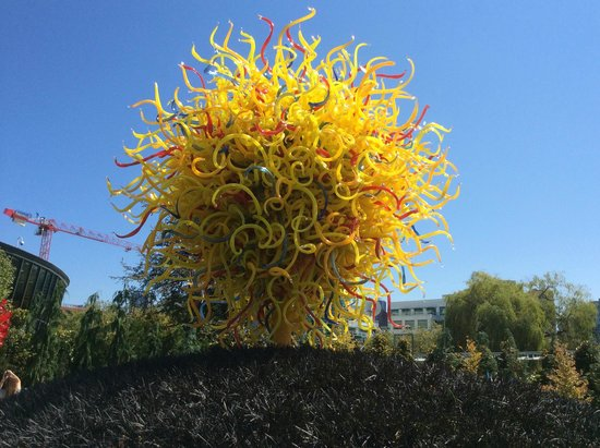 Garden Sculpture Picture Of Chihuly Garden And Glass Seattle Tripadvisor