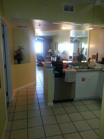 Vacation Villas at Fantasy World II: Kitchen area.