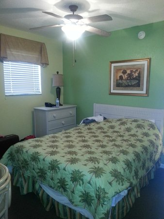 Vacation Villas at Fantasy World II: Bedroom w/separate access.