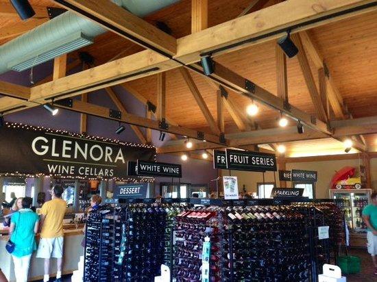 Glenora Wine Cellars inside Glenorau0027s tasting room & Glenora Winery - Picture of Glenora Wine Cellars Dundee - TripAdvisor