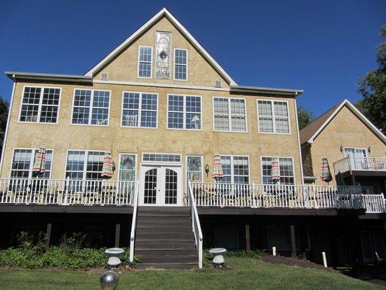 Elk Forge B&B Inn, Retreat and Day Spa : Back of house