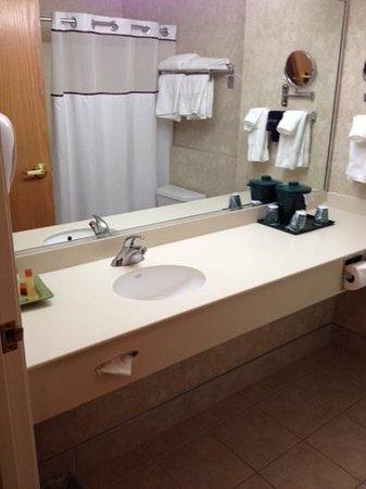 Boothill Inn & Suites: Nice big bathroom