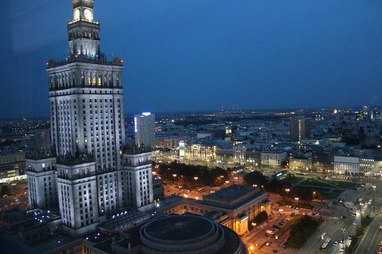 InterContinental Hotel Warsaw: View from 28th floor