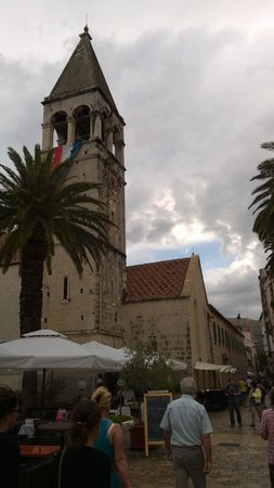 Weltkulturerbestätte Trogir: historic town