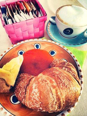 Maree Hotel: Un particolare relativo alla colazione.