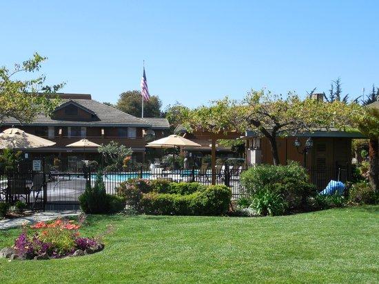 Best Western Seacliff Inn : Pool area