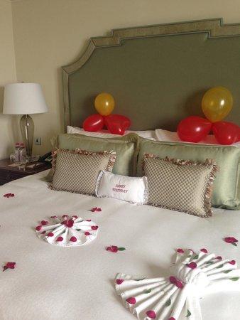 The Taj Mahal Palace: Birthday decor