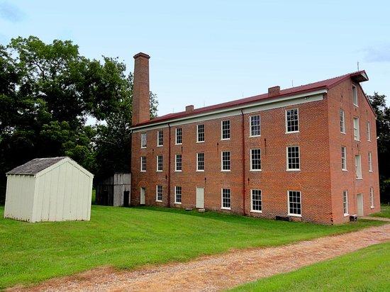 Watkins Mill State Park: Watkins Mill circa 1860