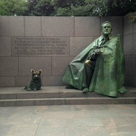 Franklin Delano Roosevelt Memorial: FDR Memorial