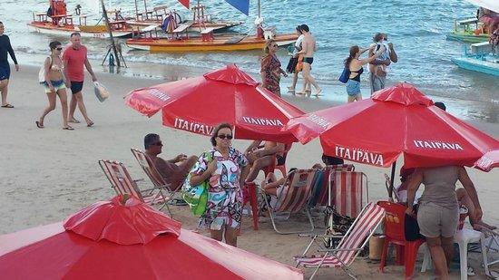 Armacao Porto de Galinhas: praia próximo aao hotel