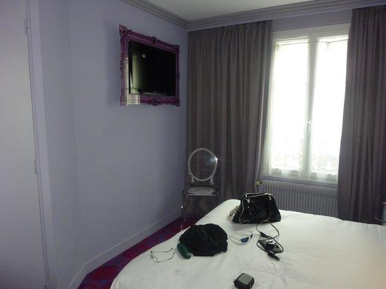 Hotel Jean-Gabriel : zimmer mit doppelbett