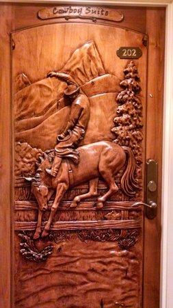 The Wort Hotel : wort cowboy suite door
