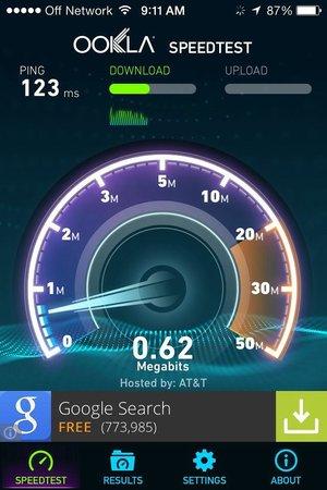 Hampton Inn Kayenta : Slow WiFi and a high cost per night