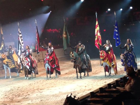 Medieval Times Dinner & Tournament: Aug 29th 2014