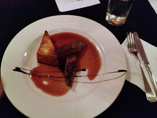 Ochre Restaurant: Kangaroo Steak