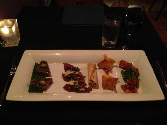 Ochre Restaurant: Assorted Exotic Pieces