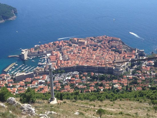 Teleférico de Dubronik: Amazing view of amazing City!