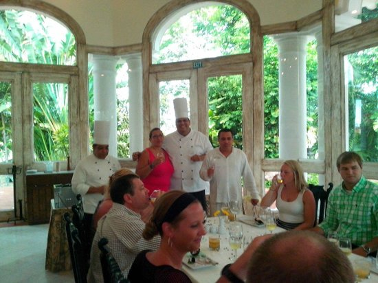 Casa Velas: Chef's table with Chef Juan Ruelas and Somm Ecker!