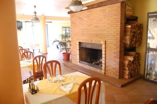 Hotel Encumeada : Must be a cosy log fire in winter
