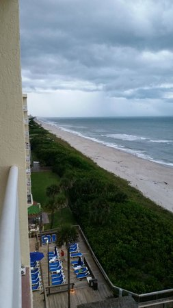 DoubleTree Suites by Hilton Melbourne Beach Oceanfront: view from room looking north
