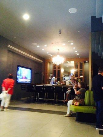 The Manhattan at Times Square Hotel : The manhattan - lobby