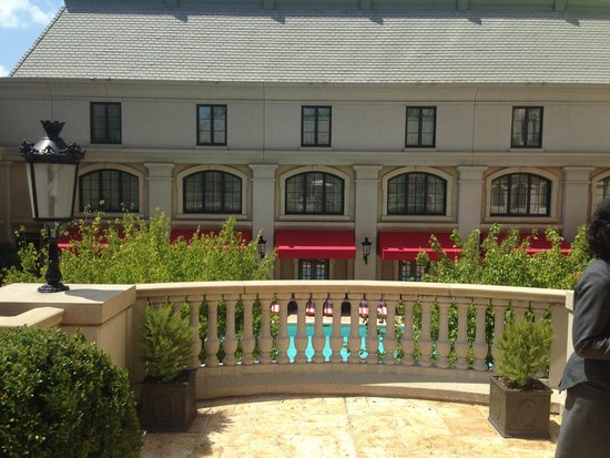 The St. Regis Atlanta: Cabanas above the pool