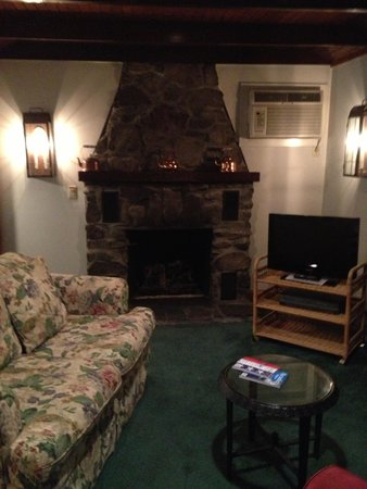 Crescent Lodge & Country Inn : Loved the fireplace too
