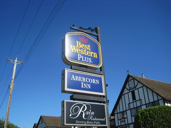 Best Western Plus Abercorn Inn: Sign