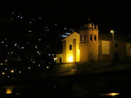 Casa San Blas Boutique: Night view from Room 113