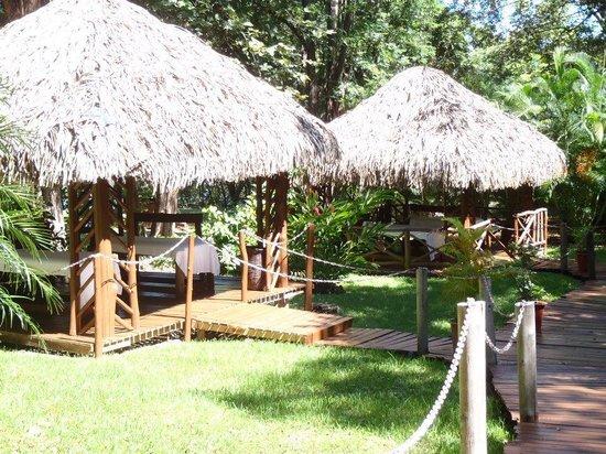 Occidental Papagayo: massage huts