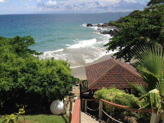 Bacolet Beach Club: The beach