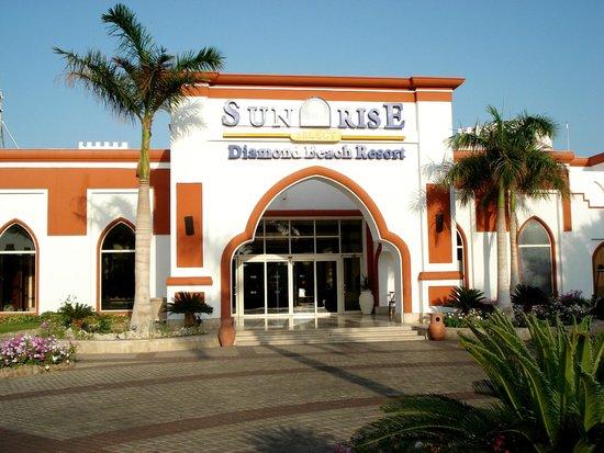 Sunrise Diamond Beach Resort : front side