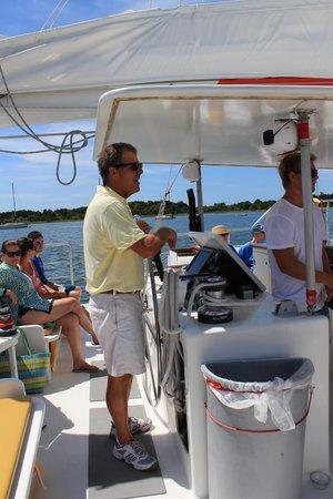 Lookout Cruises: Captain