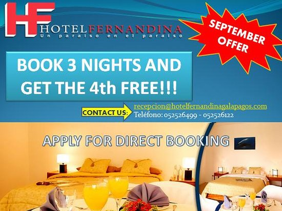 Hotel Fernandina: SEPTEMBER OFFER