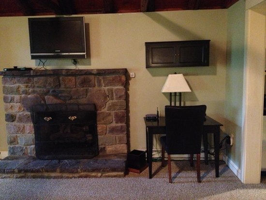 Reeders, Pensylwania: Great fireplace