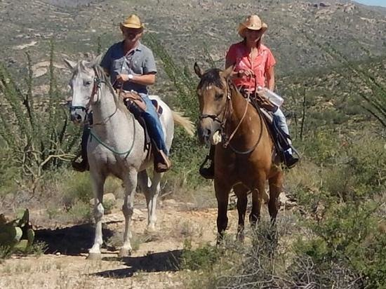 Tanque Verde Ranch : The most amazing mountail adventure ride with Joe!
