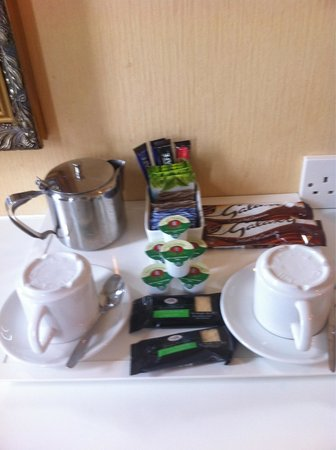 North Euston Hotel: Tea and Coffee facilities