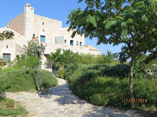 Ktima Karageorgoy: giardino
