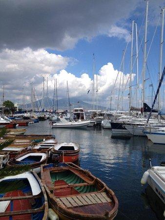 Hotel Weber Ambassador Capri: Dock at Marina