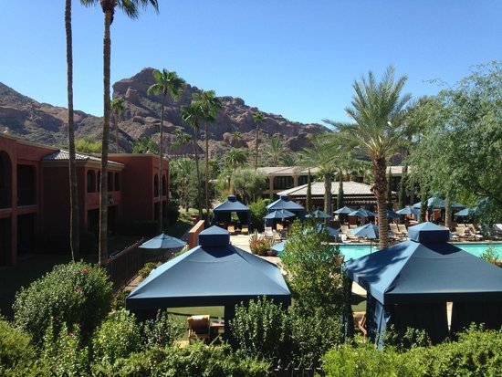 Omni Scottsdale Resort & Spa at Montelucia: Room with a view