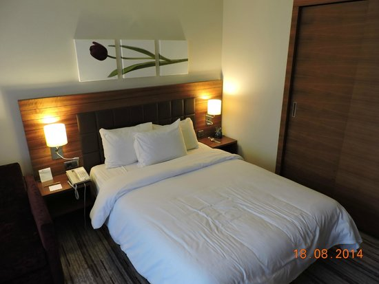 Hilton Garden Inn Konya: the bedroom