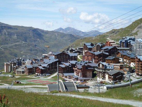 Le Hameau du Kashmir: Vue de la station