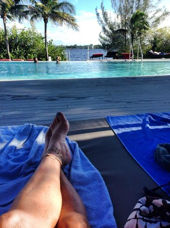 Club Med Sandpiper Bay: Relaxing by the pool