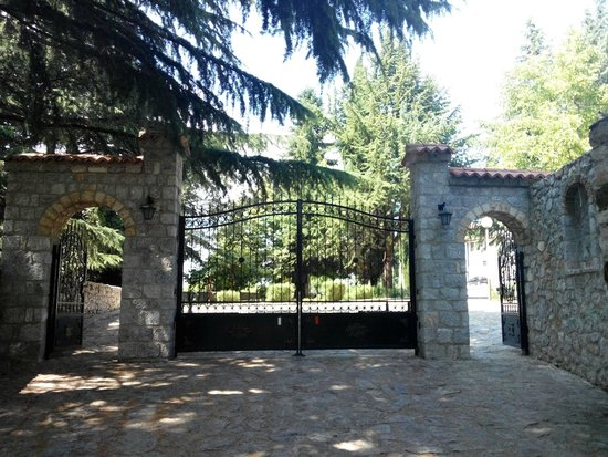 Monastery of Saint Naum : gate