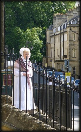 No. 1 Royal Crescent: The lovely housekeeper who greets you at the door