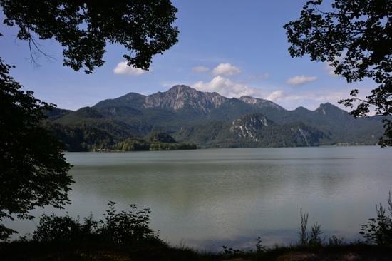 Kochelsee: озеро со стороны д. Кохель