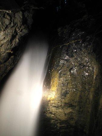 Trummelbach Falls: Hidden falls inside the mountain.